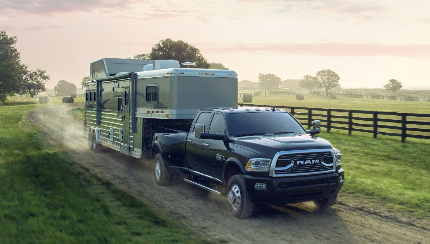 Dodge Ram with trailer